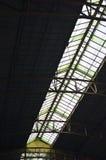 Glass roof at Bangkok train station Stock Photography