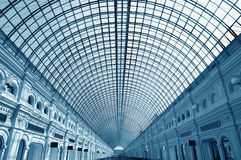 Glass roof of the building Royalty Free Stock Image