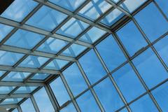 Glass roof in building Stock Photography
