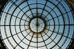 Glass roof circle Royalty Free Stock Image