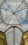 Glass roof. Of the GUM (department store) in Moscow, Russia Stock Image