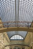 Glass Roof in GUM Moscow Stock Photography