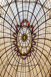 Glass roof in hotel Royalty Free Stock Photos