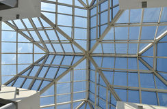 Glass roof. Royalty Free Stock Images