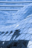 Glass roof in modern building Stock Image