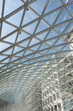 Glass roof of modern building Stock Photography