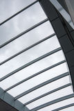 Glass roof in modern building Royalty Free Stock Photography