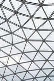 Glass roof of a modern building. Overlapping . Glass roof of a modern building. Overlapping roof of the building Stock Image