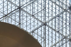 Glass roof and the pattern Stock Photos