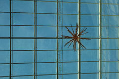 Glass roof in shopping precinct Royalty Free Stock Photos