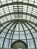 Glass roof structure Mall of the Emirates. Mall of the Emirates Royalty Free Stock Photography