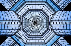Glass roof vector Royalty Free Stock Images