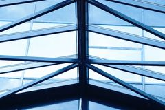 Glass roofing Stock Photography