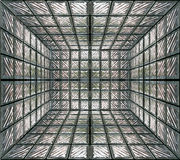 Glass room wall Royalty Free Stock Image