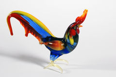 Glass Rooster Royalty Free Stock Photo