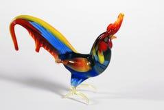 glass rooster Royaltyfri Foto