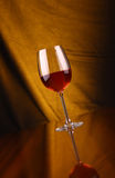 Glass of rose wine Stock Image