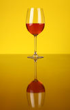 Glass of rose wine Royalty Free Stock Photography