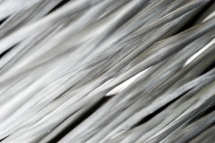 Glass roving fibre for pultrision process. Window fiberglass profile manufacturing Stock Photos