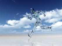 Glass runner Stock Images