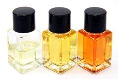 Glass sample bottles Royalty Free Stock Photos