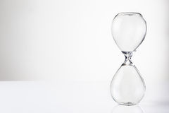 Glass sand timer Royalty Free Stock Photography