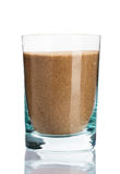 Glass of sand Royalty Free Stock Photos