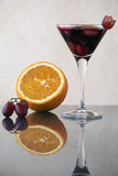 The glass of sangria. Stock Images