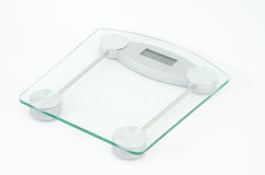 Glass scale Royalty Free Stock Images