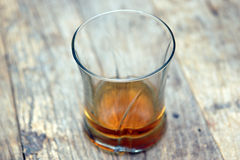 Glass of scotch Royalty Free Stock Images