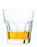 Glass of scotch whiskey Stock Image