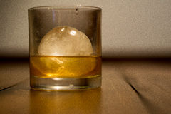 Glass of scotch Royalty Free Stock Photos