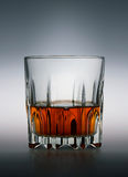 Glass of scotch whiskey Royalty Free Stock Photo