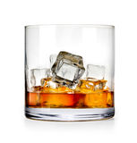 Glass of scotch whiskey Stock Photo