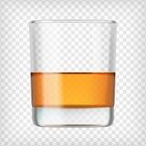 Glass of scotch whiskey. Stock Photography