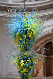 Glass sculpture by Dale Chihuly, Victoria and Albert Museum, London Stock Photo
