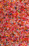 Glass Seed Bead Background Stock Image