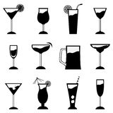 Glass set Stock Images