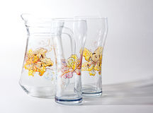 Glass set Royalty Free Stock Photography