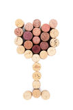 Glass shaped wine corks Stock Images