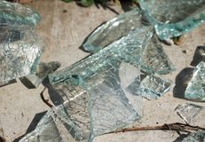 Free Glass Shatters Royalty Free Stock Photo - 147196215