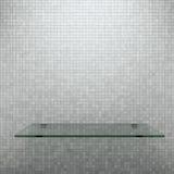 Glass shelf Royalty Free Stock Image