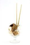 Glass of shells Stock Photo