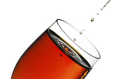 Glass of sherry Stock Photography