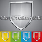 Glass shield Stock Photos