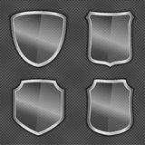 Glass Shields Royalty Free Stock Image