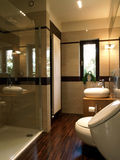 Glass shower Stock Images