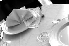 glass sked för 3 gaffel Fotografering för Bildbyråer