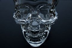 Glass Skull Royalty Free Stock Photography
