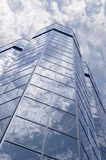 Glass and sky Royalty Free Stock Images